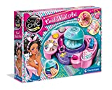 Clementoni- Crazy Chic-Cool Nails Juego para uñas de niña, Multicolor (18599)