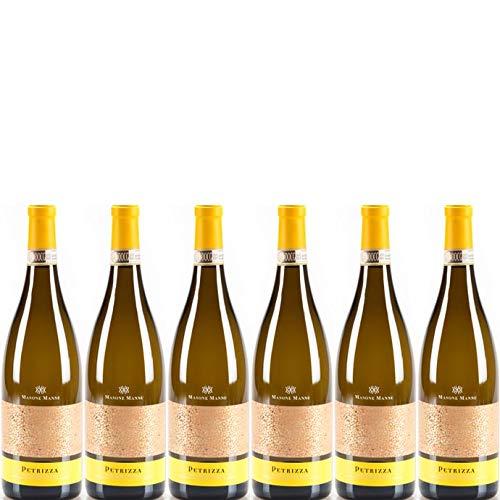 6 bottiglie per 0,75l -PETRIZZA - VERMENTINO DI GALLURA DOCG