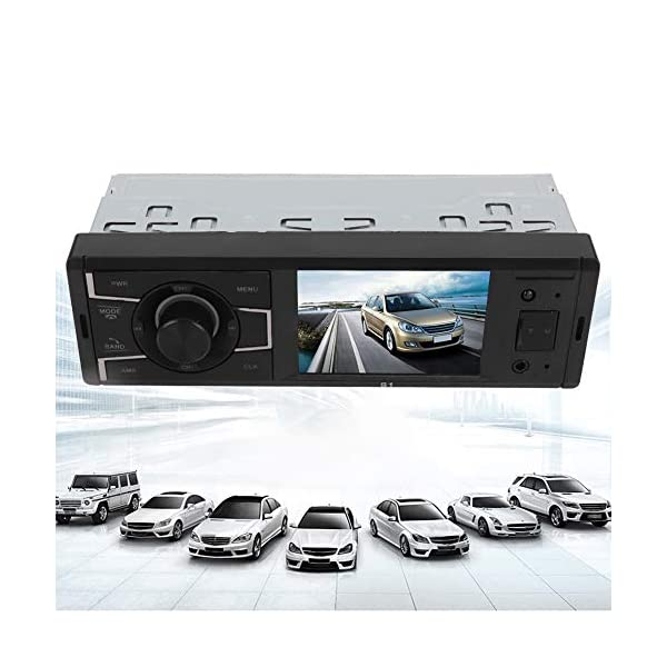 MP3 Player Car Stereo MP5  Player Stereo Radio Music Video Receiver Car MP3 Bluetooth Radio Player Stereo Audio in-Dash Remote Controller Support USB TF AUX RCA 6