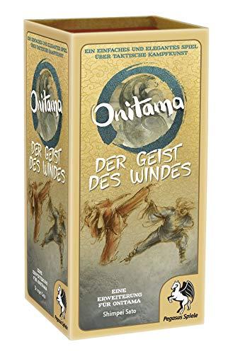 Pegasus Spiele 51857G - Onitama: Der Geist des Windes [Erweiterung]