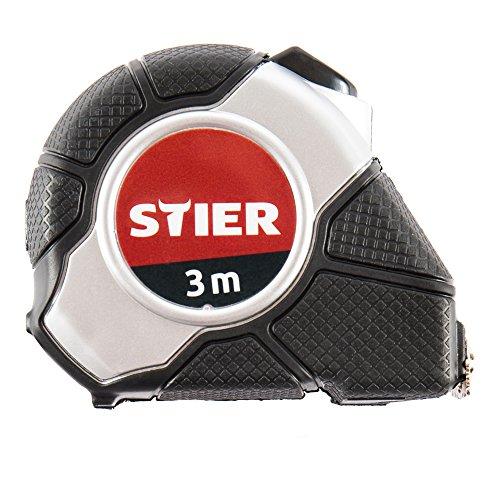STIER 902546 Cinta métrica de bolsillo (3 m), Color