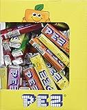 PEZ - Boîte de 100 Recharges de Bonbons PEZ Fruits - Bonbon Vegan, Sans Colorants Artificiels, Sans Gluten, Sans OGM et Sans Lactose - 5 Parfums - Format Idéal pour Anniversaires - 850g