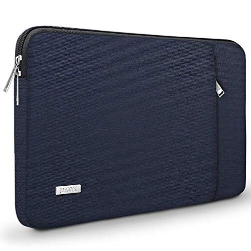 TECOOL 14 Zoll Laptoptasche Notebook Hülle Tasche Sleeve Case für HP Stream EliteBook 14, Lenovo IdeaPad ThinkPad 14, Acer Aspire Chromebook 14, Dell Inspiron 14, Dunkelblau