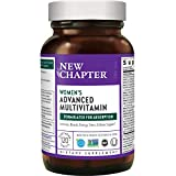 New Chapter Women's Multivitamin, Every Woman, Activated Women's Multi, Fermented with Probiotics + Iron + Vitamin D3 + B Vitamins + Organic Non-GMO Ingredients - 120 ct (Packaging May Vary)