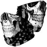 Skull Face Mask Bandana, Motorcycle Face Mask for Men Women, Skeleton...
