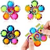 4 Pcs Anti Stress Spielzeug, Fidget Toys, Sensory Anti-Stress Toy, Hand Toy, Push Bubble Fidget...
