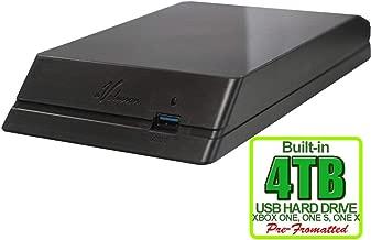 Avolusion HDDGear 4TB (4000GB) USB 3.0 External Xbox Gaming Hard Drive (For Xbox One, Pre-Formatted) - 2 Year Warranty (Renewed)