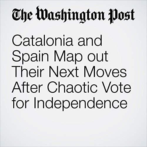 Catalonia and Spain Map out Their Next Moves After Chaotic Vote for Independence copertina