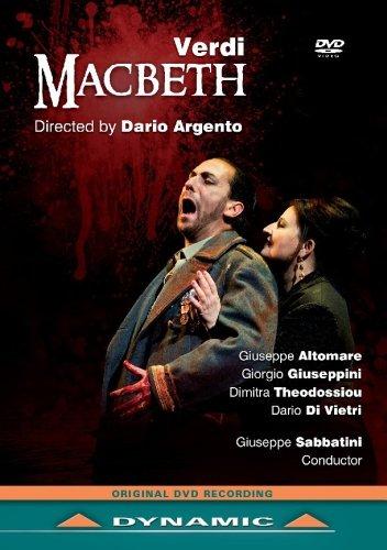Dario Argento: Verdi: Macbeth (Novara 2013) [DVD]