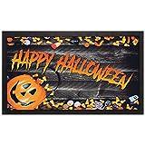 Casa Mia - Felpudo Format Mod. Halloween Dolcetti cm 40x68 cód. 22034 de Goma reciclada. Fabricado en Italia