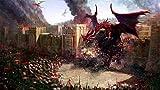 dxycfa Pintura por números para adultos, kit de pintura al óleo de bricolaje en lienzo para niños, principiantes, pigmento acrílico, Dragon Fantasy Art War, 16x20 pulgadas (sin marco)