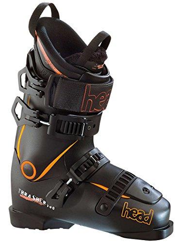 HEAD Chaussures de Ski Thrasher 100 Noir et Orange - 26 1/2