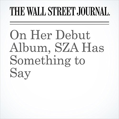 On Her Debut Album, SZA Has Something to Say copertina