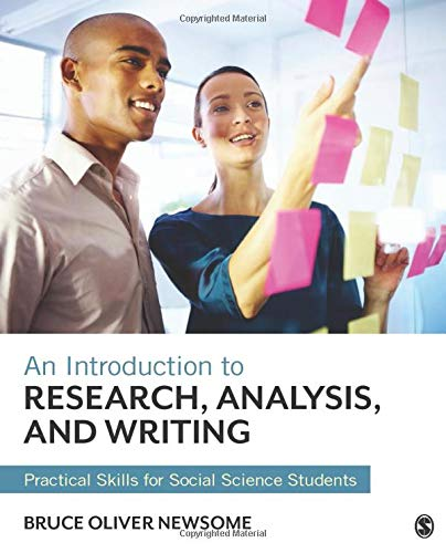 An Introduction To Research Analysis And Writing Practical Skills For Social Science Students