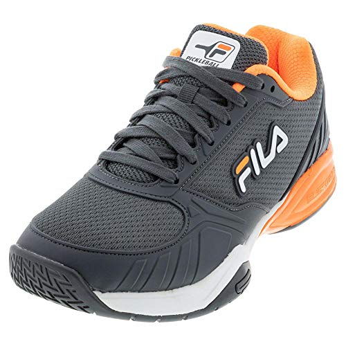 Fila Men's Volley Zone Pickleball Shoe (DKSH/Wht/Shor, 10)