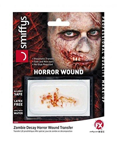Horror-Shop blessure FX 3D pourrie bouche zombie