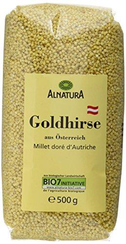 Alnatura Bio Goldhirse, 6er Pack (6 x 500 g)