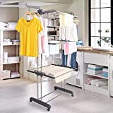 Best Clothes Airers - Blackpoolal Foldable Clothes Airer, Large 3 Layer Drying Review