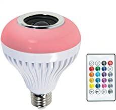 Homyl LED Bluetooth Bulb Light Speaker 5-7W RGB Smart Music Play Lamp Remote Control
