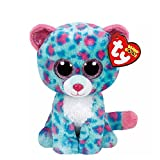 Claire's Accessories Ty Beanie Boos Plush Sydney the Teal Leopard - 6' Small
