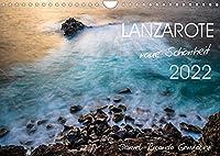 Lanzarote - raue Schoenheit (Wandkalender 2022 DIN A4 quer): Kuesten und Wasser in Langzeitbelichtung (Monatskalender, 14 Seiten )