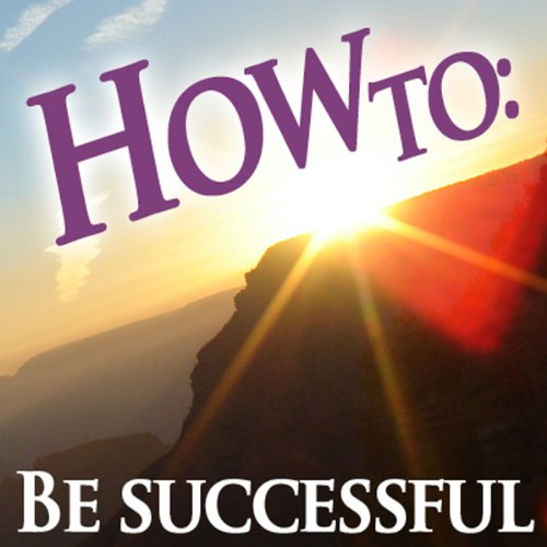 How To be Successful audiobook cover art