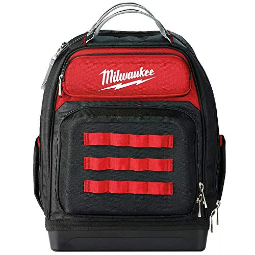 Milwaukee 932464833 Ultimate Jobsite Backpack, Red