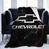 Chevy Bowtie Logo Ultra-Soft Micro Fleece Blanket Throw Super Soft Blanket 60'X50'