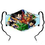 Dragon Ball Z - Mascarilla Reutilizable