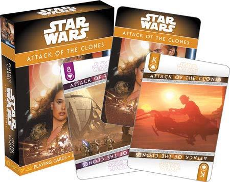 Star Wars(スター・ウォーズ)Attack of the Clones(クローンの攻撃)Playing Card(トランプ) [並行輸入品]