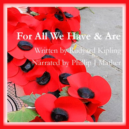 For All We Have and Are audiobook cover art