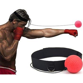 Petiwaボクシング ボール 格闘技 打撃練習 パンチングボール ボクシング グッズ トレーニング ストレス発散軽量 反射速度、動体視力、距離知覚の能力など鍛える ファイトボール