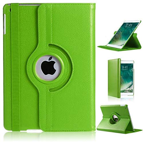 360Grad drehbare, dünne Schutzhülle aus PU-Leder mit Ständerfunktion für iPad Pro, grün, IPAD PRO