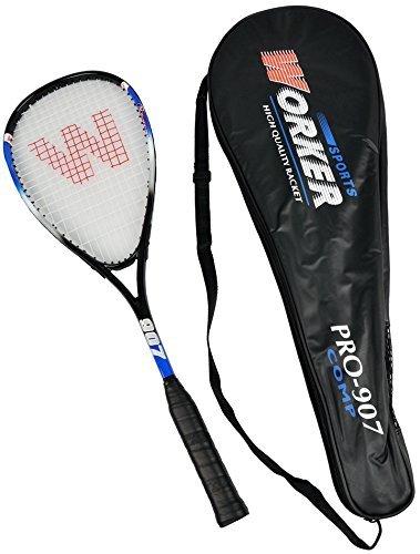 Worker Alu/ Graphite Pro 907 Comp Ultralight Squash Schläger + Tasche