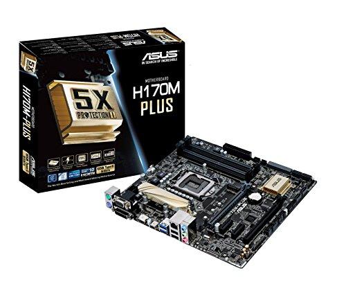Asus H170M-PLUS Motherboard Intel