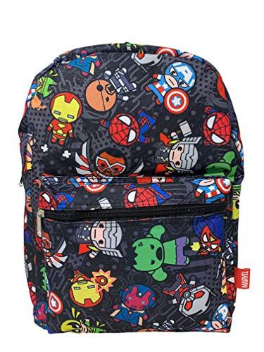 Marvel Avengers Allover Print 16' Large Backpack