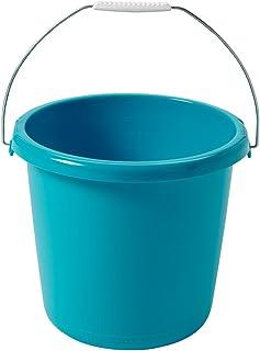CURVER | Seau 10L anse métal, Turquoise, Buckets, 29,5x29,5x25,5 cm