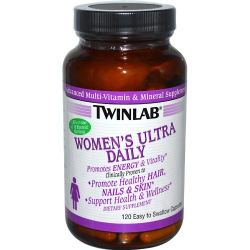 Twinlab Women's Ultra Daily 120 Capsules