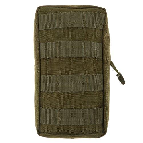 Marsupio 600D impermeabile MOLLE tattico Sacchetti compatto multifunzione EDC pacchetto piccolo ingranaggio Gadget per zaino modulare militare Camouflage Bag Accessori Storage 21 * 11.5 * 6cm