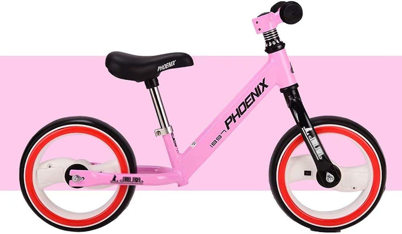 edición limitada en caliente Bicicleta de Equilibrio para Niños, Bicicleta Bicicleta Bicicleta sin Pedal, Cochero de Equilibrio de 2 a 6 años, Asiento Ajustable, neumáticos no neumáticos, Ruedas iluminadas, Bicicleta de Cocherera  100% precio garantizado