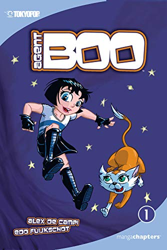 Agent Boo manga chapter book volume 1: The Littlest Agent (1) -  Campi, Alex de, Paperback