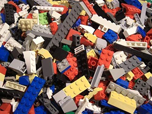 0,5 kg LEGO ca.350 Teile LEGO Kiloware Platten, Steine, Räder, Sonderteile