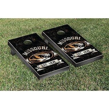 Victory Tailgate Missouri Mizzou Tigers Regulation Cornhole Game Set Banner Vintage Version