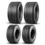 Set of 4 Lawn Mower Turf Tires 16x6.5-8 Front & 23x10.5-12 Rear 4PR Tubeless