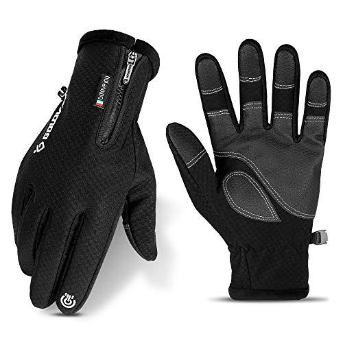 Nasharia Handschuhe für Damen und Herren Winterhandschuhe Touchscreen Handschuhe Winddicht Warme rutschfest Handschuhe zum Radfahren Laufen Camping Wandern Reiten Bergsteigen Sport im Freien