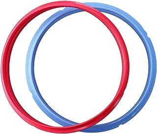 UPKOCH 2 piezas de presión de prestigio sello de anillo de sellado de ollas múltiples juntas de goma olla anillo de sello accesorios de reemplazo de olla de presión eléctrica (6qt)