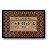 The Shining, Overlook Hotel Inspired, Horror Doormat, Indoor & Outdoor - Stephen King, Jack Nicholson, Horror Home Decor, Halloween Decor 23.6' x 15.8'