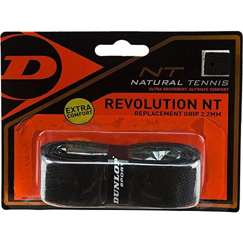 DUNLOP Revolution NT Replacement Grip Black 1er Basisgriffbänder, schwarz, One Size