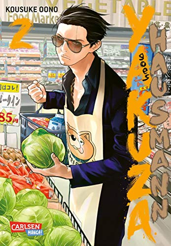 Yakuza goes Hausmann 2: Gewinner 2020 des Will Eisner Comic Industry Awards in der Kategorie Best Humor Publication . (2)