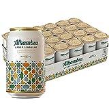 Alhambra Lager Singular Cerveza - Pack de 24 Latas x 33cl - 5,4% Volumen de Alcohol